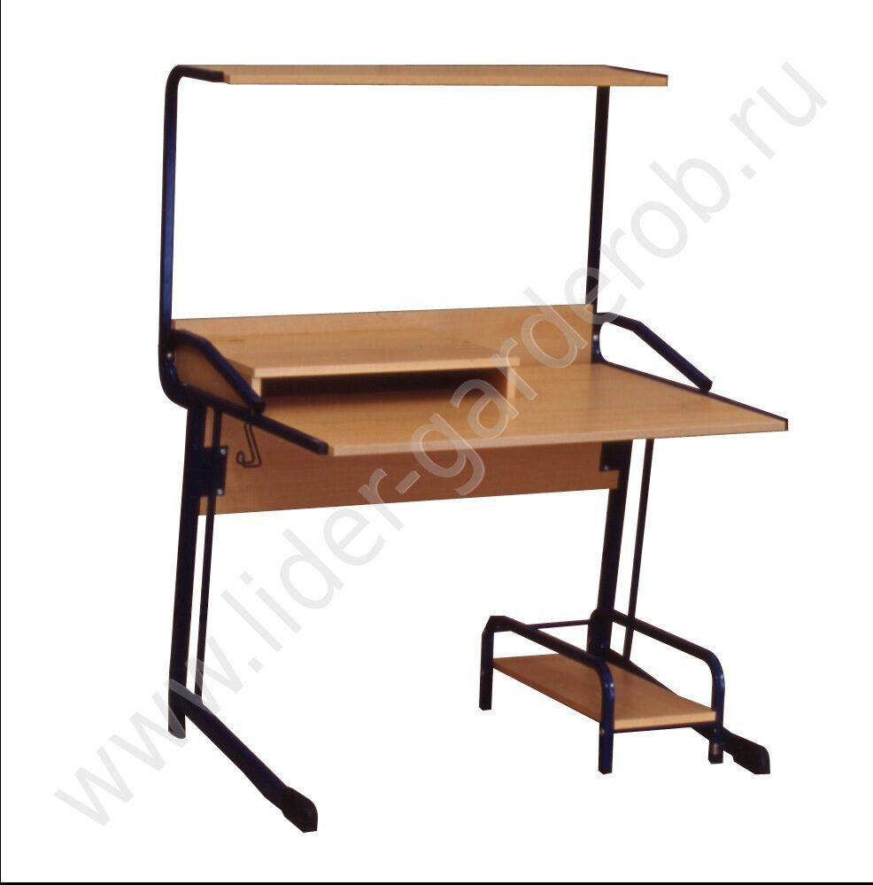 Стол для компьютера своими руками из трубы 27